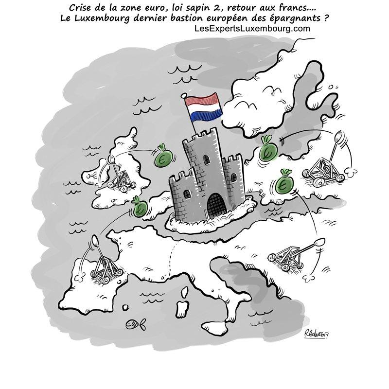 Crise de la zone Euro, le Luxembourg vers un Euro fort ?